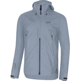 GORE WEAR H5 Gore-Tex Active Hooded Jacket Men deep water blue/cloudy blue
